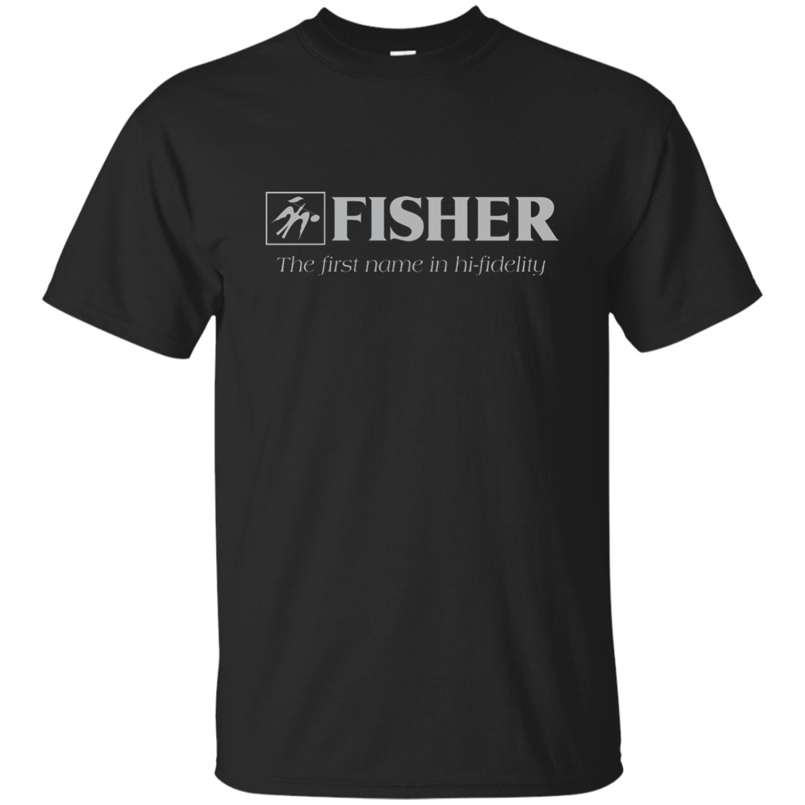 Fisher Electronics, Audio, Stereo, Components, Hi-Fi, Amplifier, Tuner, T-Shirt
