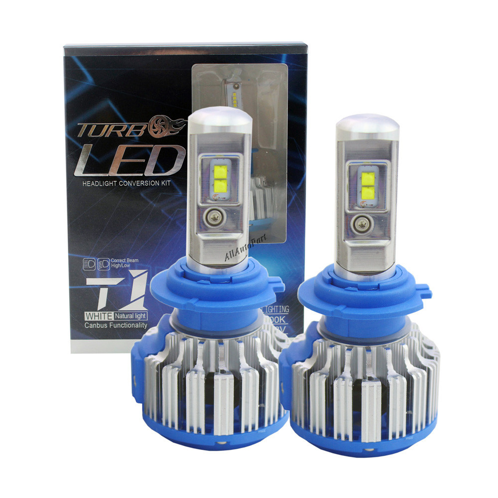 Super Bright Car Headlights H7 LED H8 H11 HB3 9005 HB4 9006 70W 7200lm Auto Front