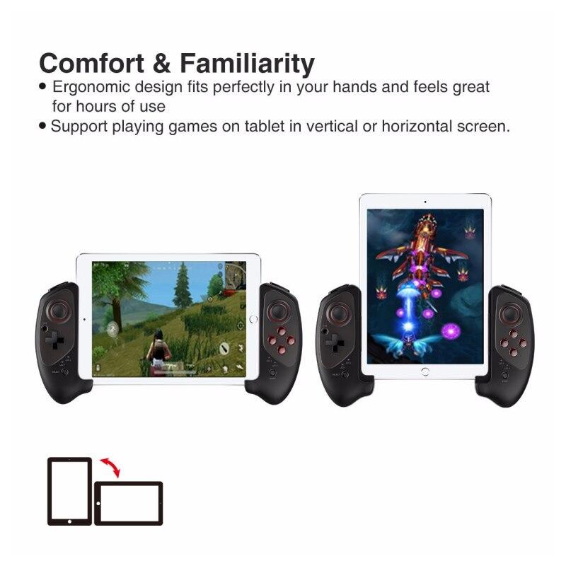 IPEGA PG-9083 Bluetooth 3.0 manette de jeu sans fil pour Android/iOS manette de jeu rétractable pratique manette rétractable - 3