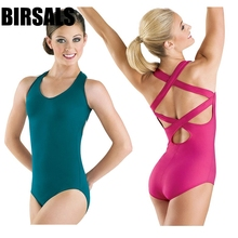 Black dance costume ballet Gymnastics Leotard for girl leotards women Adult Ballet Bodysuit ClothingCT2018