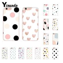 Yinuoda Stippen Zachte Transparante Telefoon Case voor iPhone X XS MAX 6 6s 7 7plus 8 8 plus 5 5S SE XR Coque Shell Fundas Capa(China)