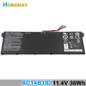 Image 3 - HONGHAY AC14B18J New Laptop Battery for Acer Aspire E3 111 E3 112 E3 112M ES1 531 B116 MS2394 B115 MP AC14B13j N15Q3 N15W4