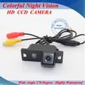 Горячий Продавать автомобильная камера заднего вида ccd/SONY CCD Ночного цвет Автомобиль Обратный Резервного Копирования камера для AUDI A4L A5 TT