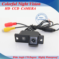 Venda quente visão traseira do carro da câmera ccd/sony ccd noite cor do carro câmera reversa backup para audi a4l a5 tt
