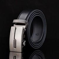 2015 Men Genuine Leather Men Brown Black Color Strip Cowhide Strap 140 Cm 130cm 110cm 120cm