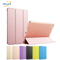 Solid Color Translucent Back Cover Case For XiaoMi Mi Pad 2 Folio Stand Ultrathin Light Weight