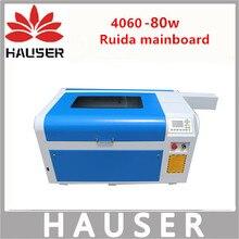 Livraison Gratuite Ruida 4060 laser machine de gravure 80 W laser machine de découpe machine de marquage co2 machine de gravure accessoires