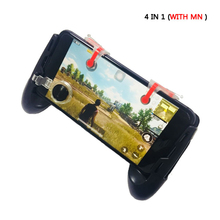 in 1 Mobile Game Controller Gamepad + L1 R1 Trigger Aim Button L1R1 Shooter +