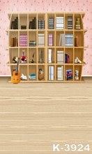 Newborn Children Backgrounds For Photo Studio 150CM x 200CM Kids Vinyl Backdrops For Photography Beautiful Bookshelf Backdrop