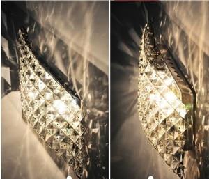 Image 4 - Wand Leuchte Moderne LED Kristall Wand Lampe Mit 2 Lichter Für Home Beleuchtung Wand Leuchte Arandela Lamparas De Pared