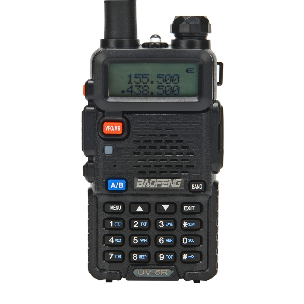 Baofeng UV-5R jambon radio Radio bi-bande 136-174 Mhz et 400-520 Mhz Baofeng UV5R de poche radio Bidirectionnelle talkie Walkie 10 KM CB RADIO