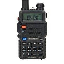 Baofeng UV-5R радиолюбителей двухдиапазонного радио 136-174 МГц и 400-520 Mhz Baofeng UV5R ручной двухстороннее радио Walkie talkie 10 км CB радио