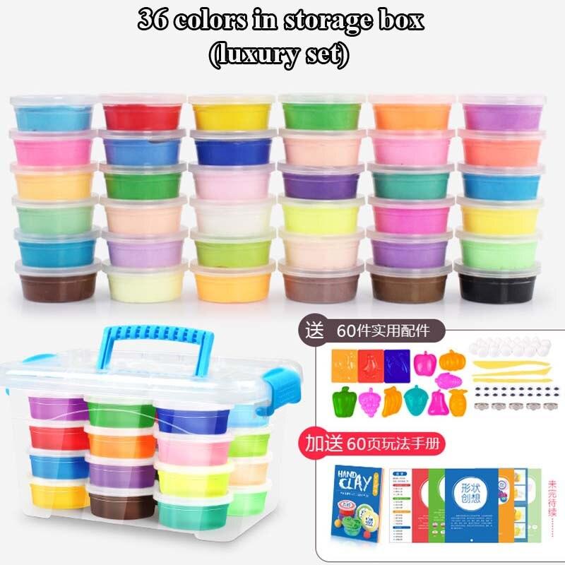 24-Colors-36-Colors-Super-Light-Modeling-Clay-Set-Air-Dry-Soft-Plasticine-Plastilina-Play-Dough-Playdough-Polymer-Clay-DIY-Toy-5