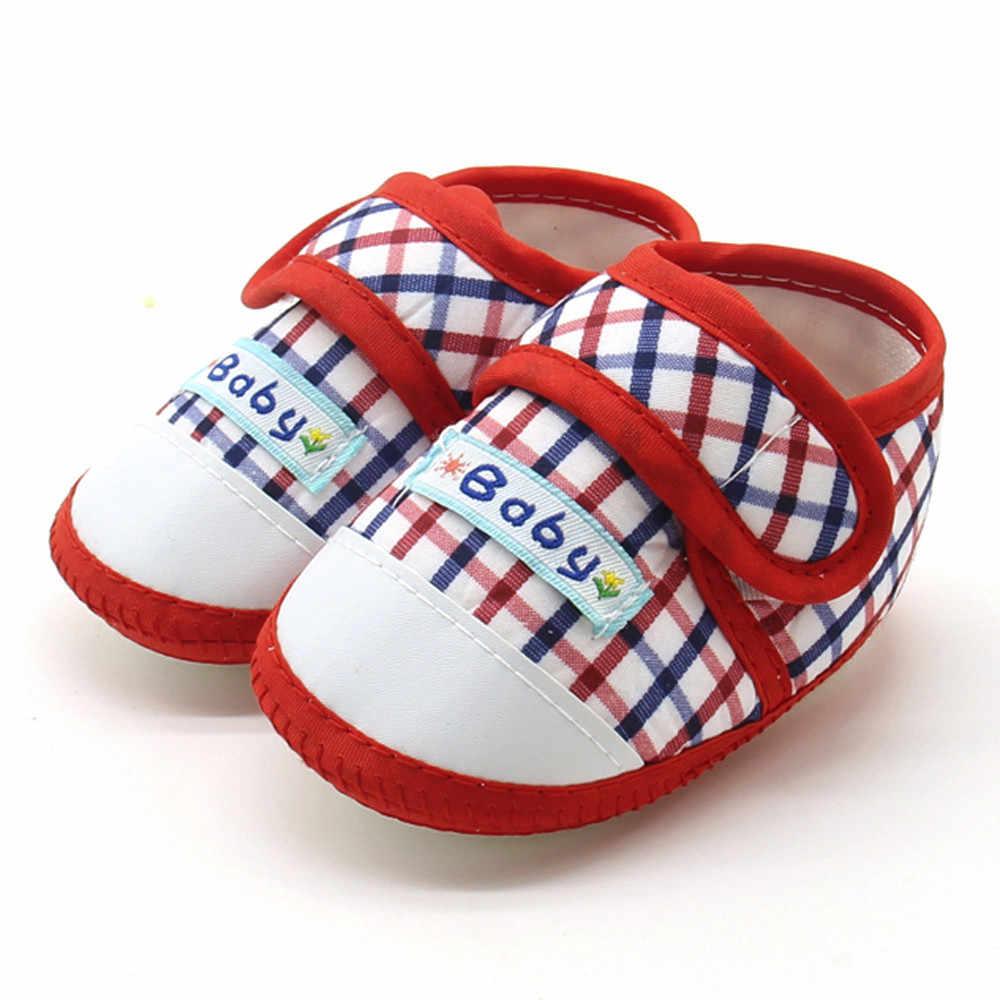 Recién Nacido bebé niños niñas suela suave Prewalker cálido Casual Zapatos planos Scarpe da bambino Zapatos de bebe * 40
