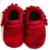 2016 de gamuza Genuina mocasines de Cuero suave zapatos de bebé zapatos de Niño recién nacido Zapatos franja Infantil de regalo de Navidad