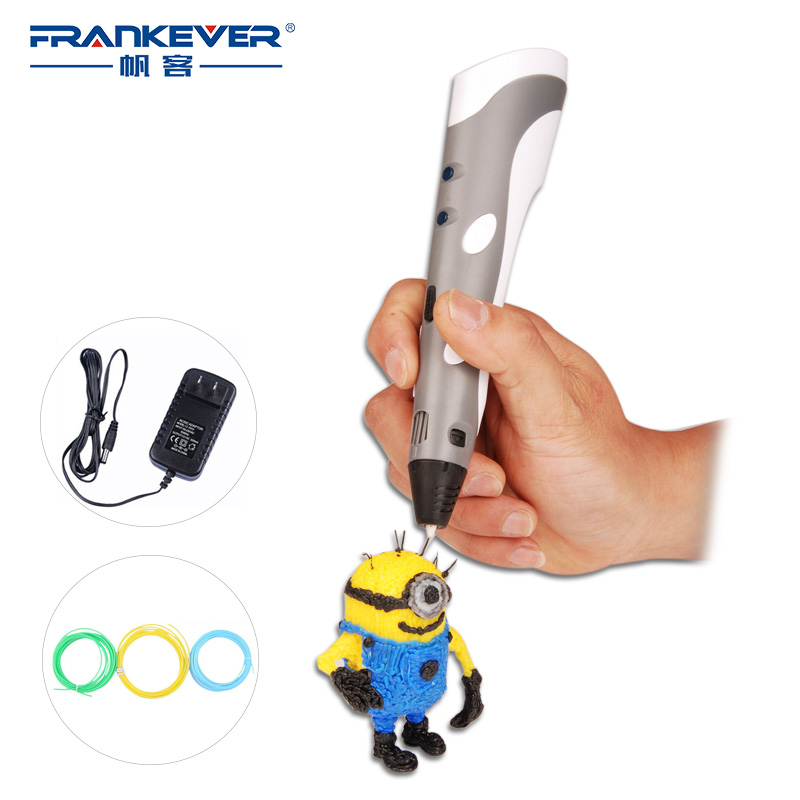 ФОТО 3DSmart Printer Pen 3D Printing Drawing Pen With ABS Filament Arts for Kids Gift Christmas Gifts Free Shipping