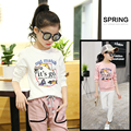 4 5 6 7 8 9 10 11 12 13 Years Shirts For Girls Tops Long Sleeve Cartoon Girls Tees Print Things Cool Girl T Shirt Kids Clothes