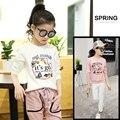 4 5 6 7 8 9 10 11 12 13 Years Shirts For Girls Tops Long Sleeve Cartoon Girls Tees Print Things Cool Girl T Shirt Kids Clothes