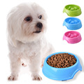 New Slow Feed Dog Bowl Cat Bowl Fun Interactive Pet Feeder Bloat Stop Pet Feeder Slow Bowl Food Container Random Color Dia 15cm