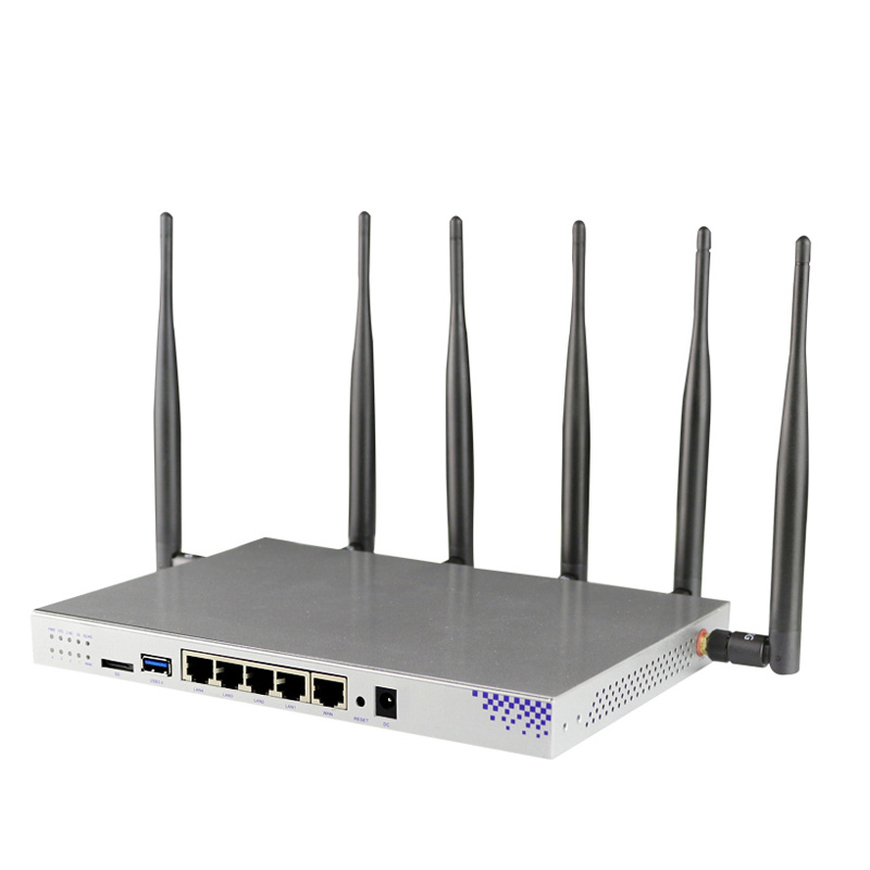 Image 4 - High Powerful Wifi Router With Modem 3G 4G With Sim Card Slot 1200Mbps Openwrt Router 802.11AC 4G Lte Router Support PPTP L2TP-in Wireless Routers from Computer & Office