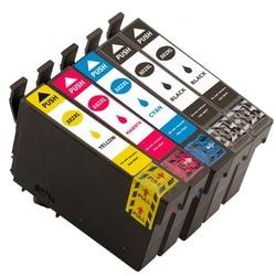 5Pack kompatybilny z Epson T502 XL wkłady atramentowe z Epson Expression Home XP-5105 XP-5100 XP5105 XP5100 WorkForce WF-2860DWF