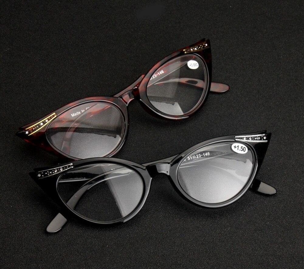 08333a9bd52 Elegant Female Ladies Women Cat Eye Reading Glasses Resin Lenses ...
