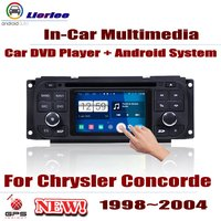 For Chrysler Concorde 1998~2004 Car Android Player DVD GPS Navigation System HD Screen Radio Stereo Integrated Multimedia