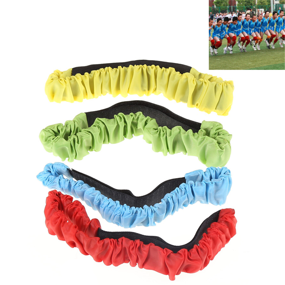 Two People Three-legged Ropes Elastic Sport Tie Rope Foot Running Race Kids Game Toys