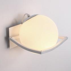 Nowoczesne matowe szkło ball kinkiet sypialnia korytarz lampa naścienna do kawiarni bar shop oświetlenie dla dzieci lustro łazienkowe kinkiety|Wewnętrzne kinkiety LED|   -