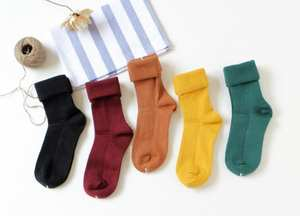 Fashion Socks 150-Pairs Women's Solid A0006 Per-Pack New-Arrival
