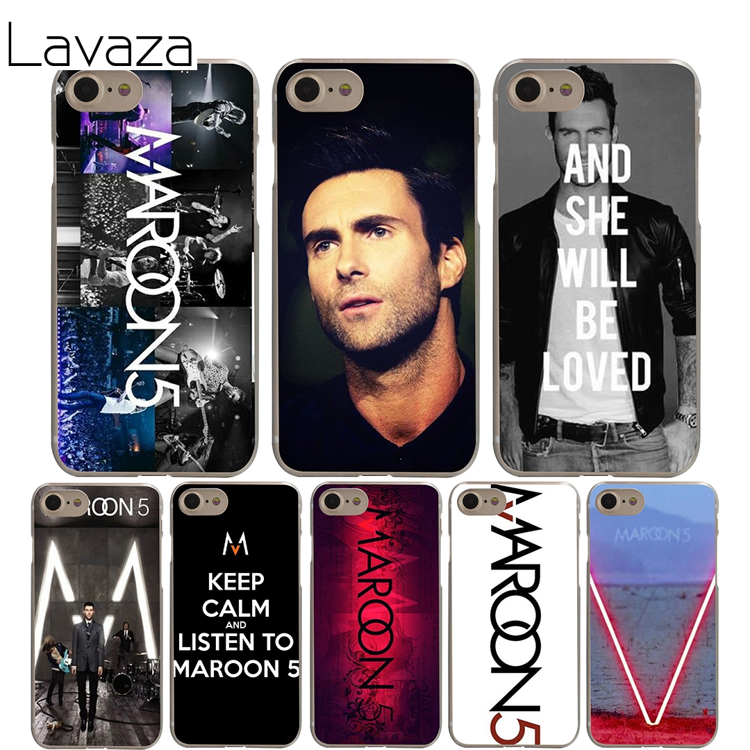 Lavaza maroon 5 Cover Case for iPhone X 10 8 7 6 6S plus Cases for Apple 5 5S 5C SE 4 4S Coque Shell