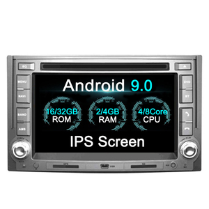 2 Din Android 9 4GB RAM For Hyundai H1 Grand Starex 2007 2008 2009 2010 -2016 GPS Stereo Radio Car Central Multimidia Player
