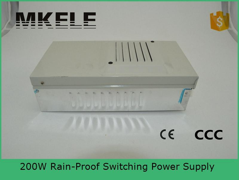 ФОТО CE 48v 201w FY-201-48 4.2A Single Output Rainproof Switching power supply for LED Strip light AC to DC LED Driver free shipping