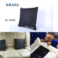 KRADA Car Styling for Office Car Pillow for Mercedes Benz Amg W204 Cla Amg W204 W203 W211 W205 W124 W205 W210 Lumbar Support