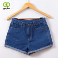 GOPLUS 2016 New  Hot Women's Jeans High Waist Stretch Denim Shorts Slim Jeans Feminino BrandSummer Spring Plus Size 26-32 C2296