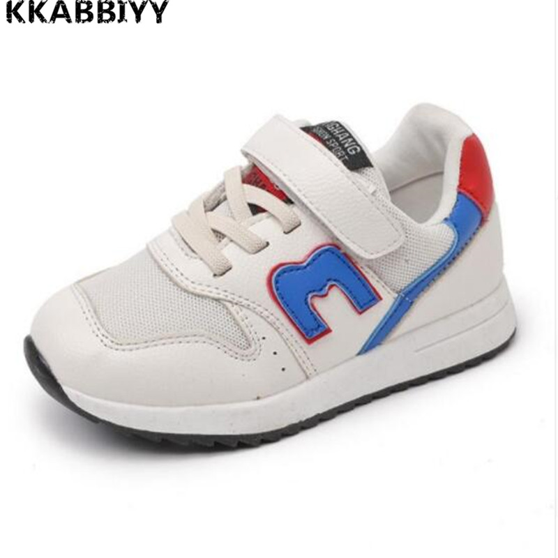 Student School Shoes Kids Sneakers Fashion Casual Shoes Boys Soft Breathable Shoes Big Kids Footwear protect feet