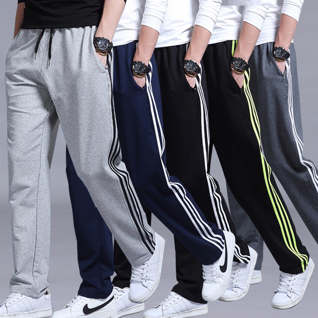 FOLOBE Brand Mens Cotton Pants Outside Thick Joggers Fleece Summer Super Warm Pants Heavyweight Zipper Trousers Men Sweatpants