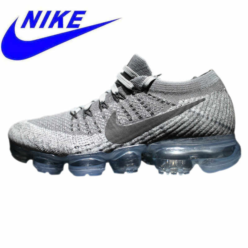 8b1f540f5c23b Original Nike Air VaporMax Be True Flyknit Breathable Men s Running Shoes  Outdoor Sports Sneakers Athletic Mesh