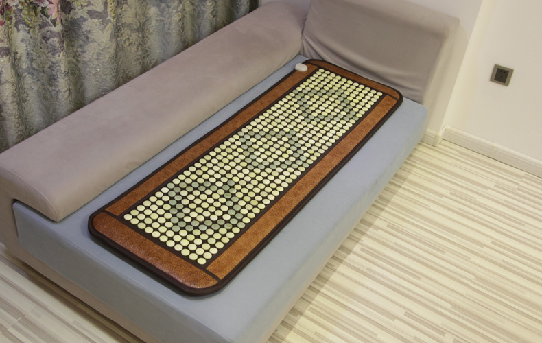 New Design Thermal Jade Massage Seat Cushion Heat and Massage Sofa Cushion 50X150cm Free Shipping russia tax free 3d woodworking cnc router cnc 6040 4 axis cnc milling machine with spindle 500w