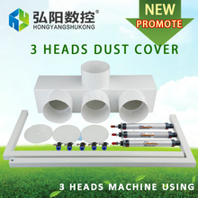 Spindle dust cover 100mm size CNC Router Vacuum Cleaner Dust protection for 3 heads CNC woodworking engraving machine Dustproof