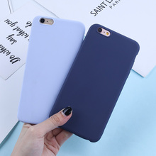 Candy Color Phone Case For iPhone 6 6S Plus 7 8 X XR XS Max Luxury Silicone Soft TPU Cute Case For iPhone 5 5S SE Back Cover цена и фото