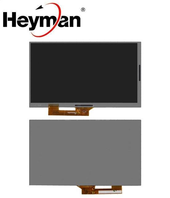 Heyman 7''size LCD display screen for Irbis TZ70 irbis hit tz49 Irbis TZ56  Tablet PC Replacement parts