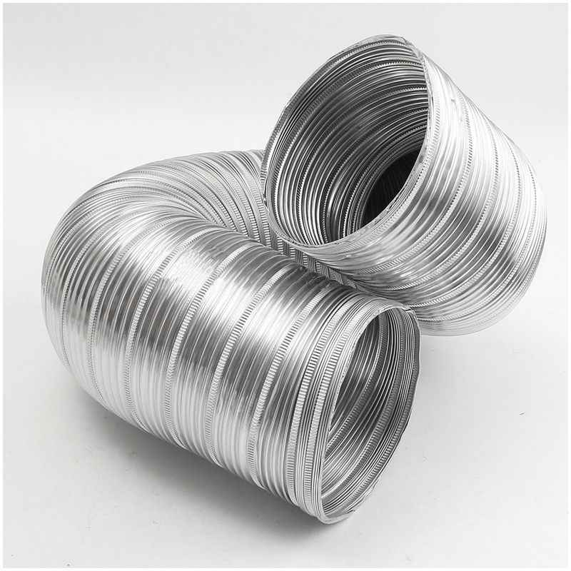 Offre spéciale 1m feuille d'aluminium salle de bains cuisine extracteur ventilateur et hotte Flexible tuyau de conduit, 125Mm