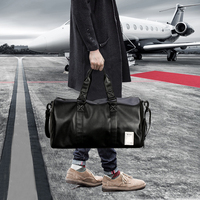 Weekend travel bags men business trip excursion exercise fitness multifunction shoulder bag Travel Duffle waterproof luggage bag