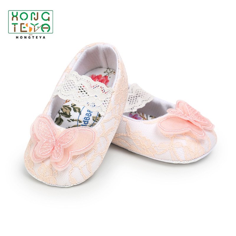 Baby First Walkers Cute Baby Girls Shoes Princess Shoes Crib Shoes