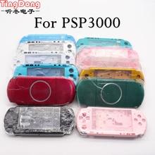 Für PSP3000 PSP 3000 Spiel Konsole ersatz voller gehäuse shell cover fall mit tasten kit