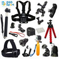 Accesorios kit trípode para go pro hero 5 gopro session 4 3 + 3 cámara de acción sj4000 sjcam sj5000 sj6000 xiaomi yi 06e