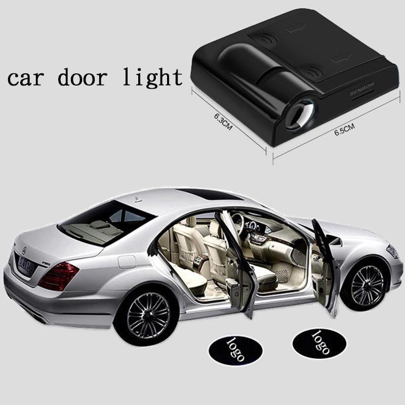 2X Car LED Door Warning Logo Lights for Toyota corolla 2011 avensis auris yaris orolla verso hilux camry 40 2007 2008 2009 ipsum toyota yaris echo yaris verso устройство техническое обслуживание и ремонт