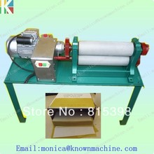 74*195mm electirc beeswax embossing comb foundation sheet machine