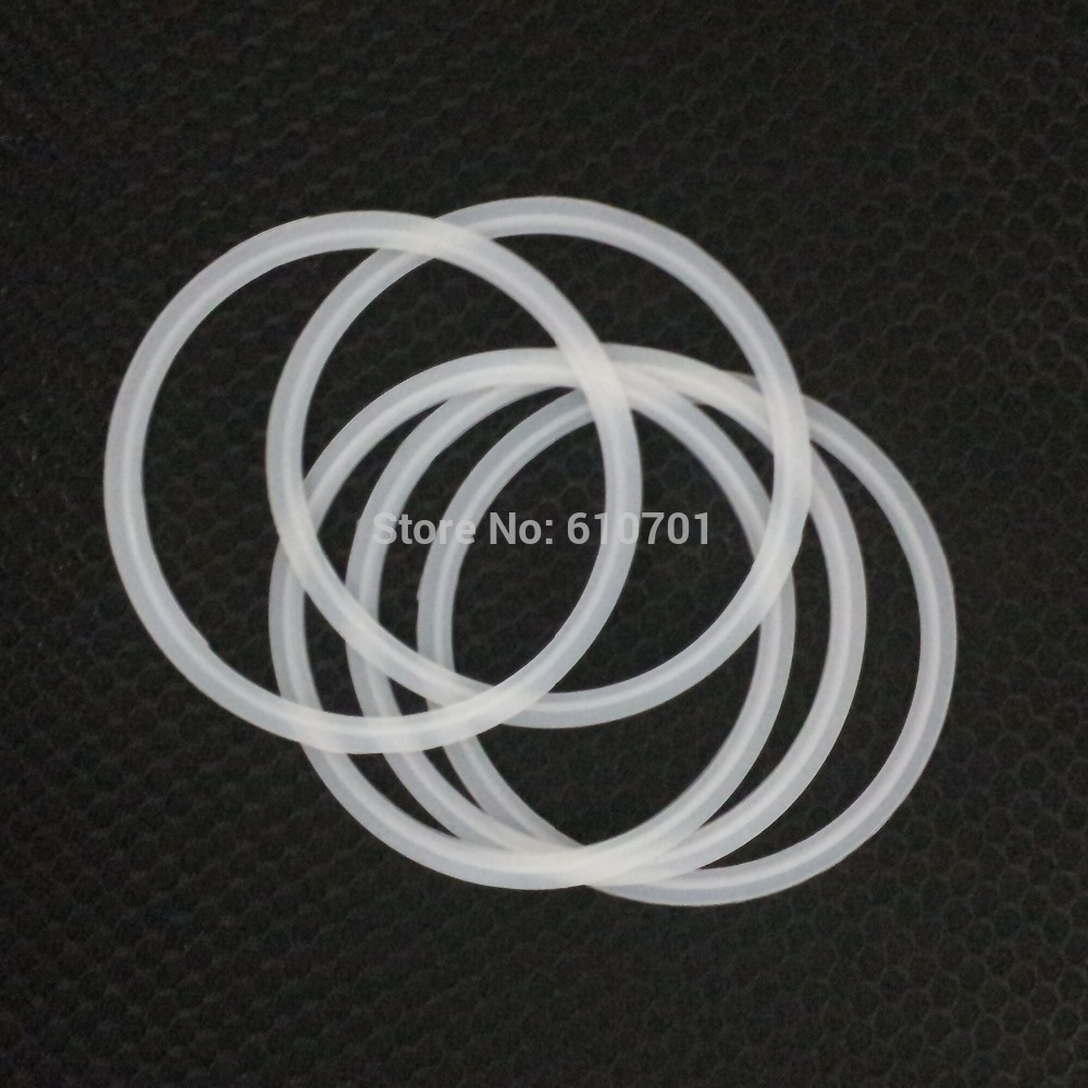 4 4.5 5 6 8 102/108/114/133/159/219/305-119/130/145/183/233/319mm Silicon Gasket Fits Sanitary Tri Clamp Type Ferrule Pipe